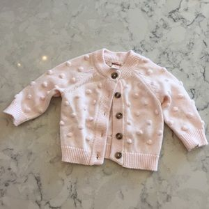 New Cat and Jack button up cardigan sweater